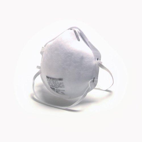MSA Safety Works 10102481 Respirator N-95 Harmful Dust, 20-Pack