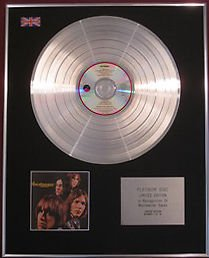 IGGY POP Stooges-Cd Platinum DISC- THE STOOGES