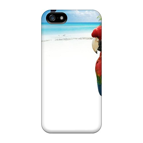 Oscarapaz Scratch-Free Phone Case For Iphone 5/5S- Retail Packaging - Tropicaltwitter