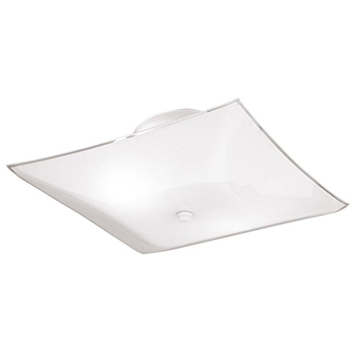 Westinghouse #66201 2 Light Sq Ceiling Fixture