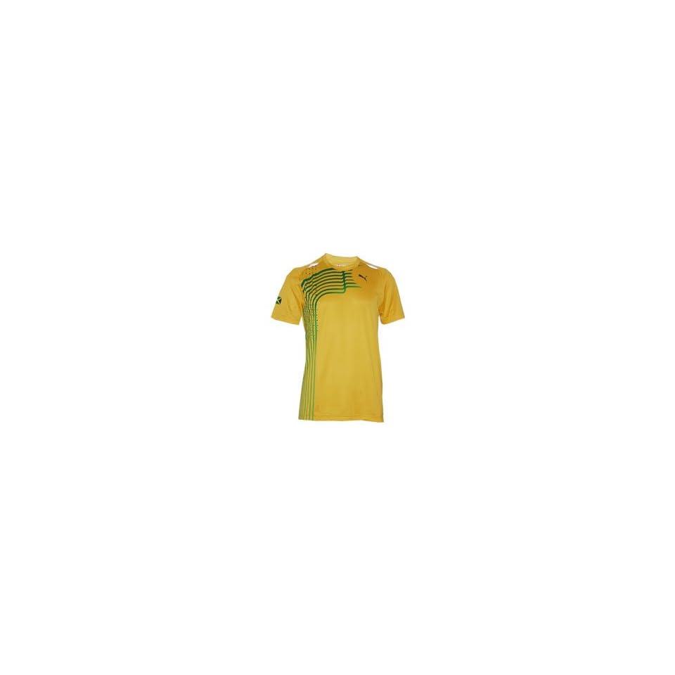 PUMA Jamaica Lane Tee / T Shirt / Jersey (yellow) Sport
