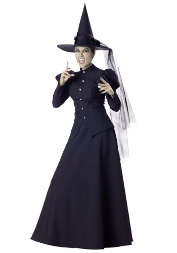 Incharacter Womens Scary Wicked Witch Theme Party Fancy Halloween Costume