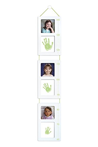 Pearhead Tiny Ideas Child's Handprint and Photo Growth Height Chart