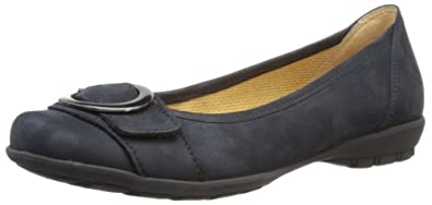 Gabor Shoes Gabor 84.231.16 Damen Ballerinas, Blau (nightblue), EU 35 (UK 2.5) (US 5)
