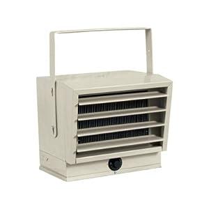 Ceiling-Mount Industrial Electric Heater - 7500 Watt, 31.3 Amp, 25,600 BTU