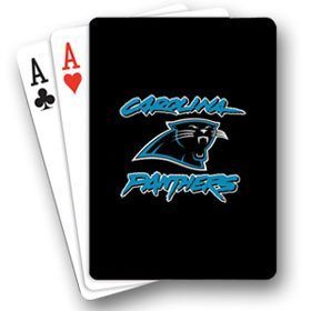 NFL Carolina Panthers Playing Cards - 1