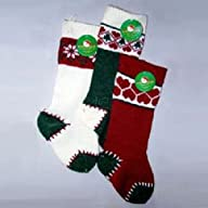 HEAVY KNIT STOCKING SET OF 3