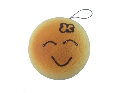Jumbo Emotional Face Hamburger Squishy Shy Girl Face - 1