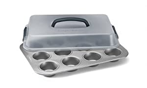 Calphalon 12-c. Nonstick Bakeware Covered Cupcake Pan