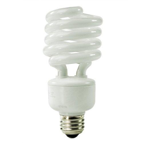 TCP 28927-65 - 27 Watt CFL Light Bulb - Compact Fluorescent - 100 W Equal - 6500K Full Spectrum Daylight - 82 CRI - 69 Lumens per Watt - 18 Month Warranty ноутбук hp 15 bs027ur 1zj93ea core i3 6006u 4gb 500gb 15 6 dvd dos black
