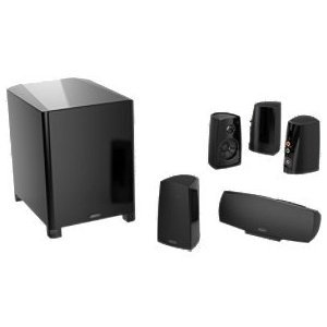 Definitive Technology ProCinema 400BK 5.1 Speaker System (Black, 6 Pieces)