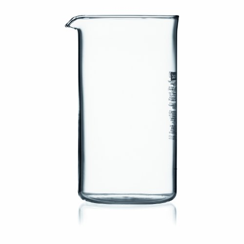 Bodum 12-Ounce Coffee Press Replacement Beaker, Glass
