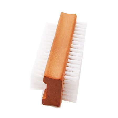 Wooden Double Sided Nail Brush Nail Care