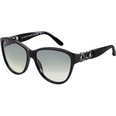 Marc By Marc Jacobs Marc by MJacobs MMJ324/S Sunglasses-0807 Black Black (VK Gray Grad Lens)-58mm
