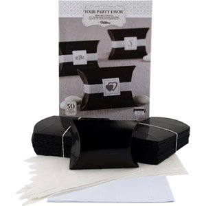 Amazon Com 50 Ct Wilton Wedding Printable Black Favor