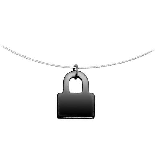 Hemalyke Lock Choker Necklace