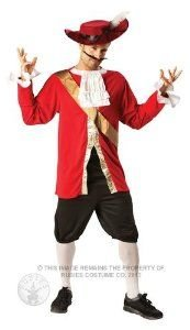 Disney - Captain Hook Costume ADULT Fancy Dress