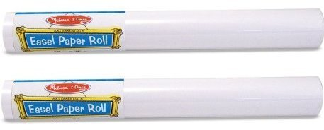 Manufacturer'S Suggested Age: 4 Years And Up - Melissa & Doug Easel Paper Roll (Set of 2)