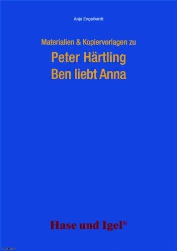 Begleitmaterial Ben Liebt Anna Anja Engelhardt Lesen