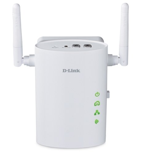 D-Link DHP-W306AV PowerLine AV Wireless N Extender, HomePlug AV, 11n
