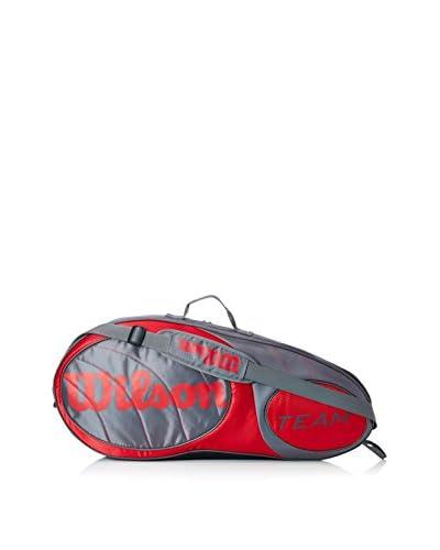Wilson Tennistasche Team 3Pk Bag Gurd grau/rot