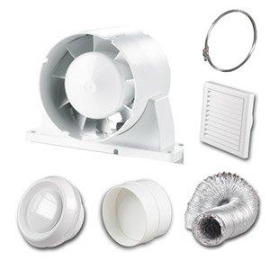 Best bathroom exhaust fans 2016 top 10 bathroom exhaust for Bathroom extractor fan kit