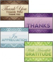 A Word of Thanks - Scripture Greeting Cards -