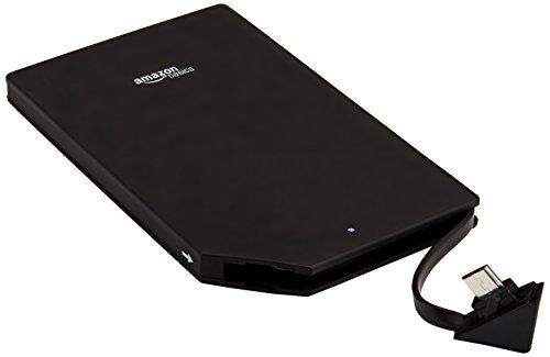 AmazonBasics Portable Power Bank with Micro USB Cable - 3,000 mAh