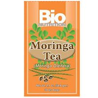 Bio Nutrition Moringa Tea Mint, 30 Bags - 6 Pack