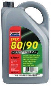 Clarik Granville Epex 80/90 Gl5 Gear Oil 5Ltr 0173