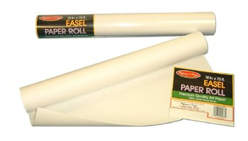 Paper Roll For Large Standing Easel -- Case of 5