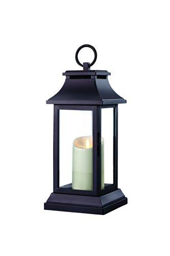 GKI/Bethlehem Lighting Classic Luminara Lantern, 15-Inch, Mat Black