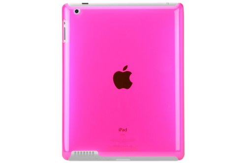 Scosche glosSEE P2 Flexible Rubber Case for iPad 2 - Pink (IPD2TPUP)