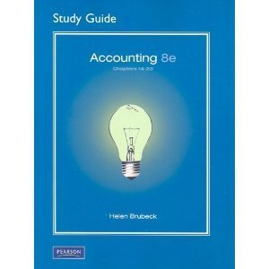 Student Guide 14-23 Accounting &Study Guide Flash CD Package