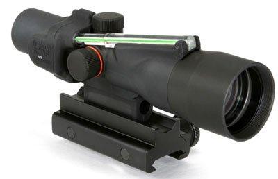 Acog 3 X 30 Scope Dual Illuminated Chevron .308 Ballistic Reticle, Green