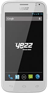 Yezz Andy A4,5 Smartphone Dual SIM USB Android 4.2.1 Jelly Bean 1,2 Go Blanc
