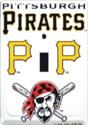 Pittsburgh Pirates Light Switch Cover (single)