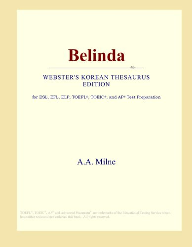 Belinda (Webster's Korean Thesaurus Edition)