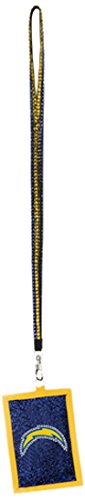 nfl-san-diego-chargers-beaded-lanyard-with-nylon-wallet