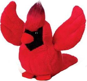 Lil'Kinz Mini Plush Stuffed Animal Cardinal