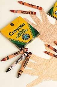 Crayola Multi Cultural Crayons LARGE