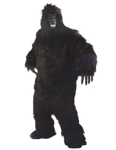 Adult-Costume Gorilla Halloween Costume - Most Adults