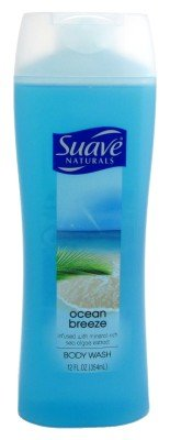 Suave Naturals Body Wash, Ocean Breeze - 12oz. (079400835000)