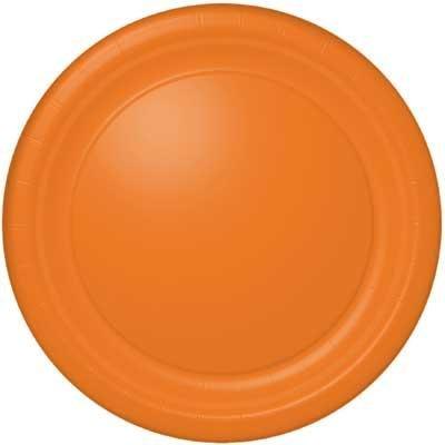 Orange Soda Banquet Plate 24 Count