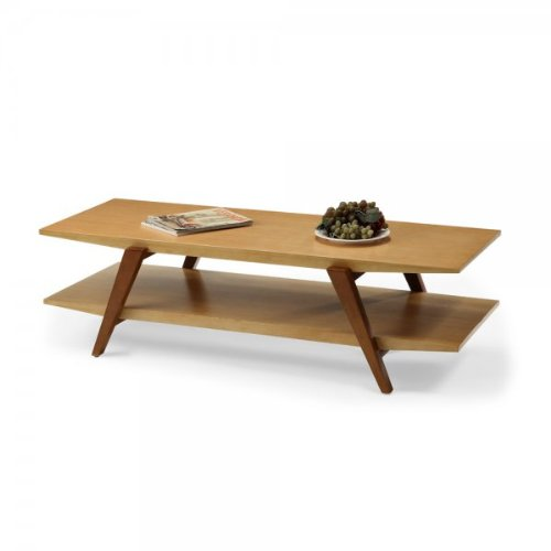 Buy low price chai coffee table with wooden legs caramel for Buy coffee table legs