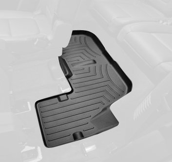 WeatherTech Custom Fit Rear FloorLiner for Ford Explorer, Black (Floor Liners Explorer 2015 compare prices)