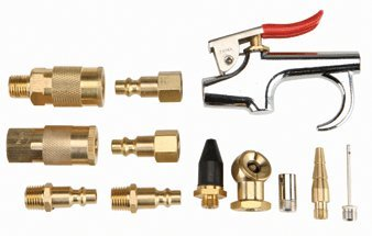 Central Pneumatic 12 Piece Professional Air Tool Accessory Kit (Central Pneumatic Blow Gun compare prices)