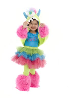 Toddler Uggsy MonStar Colorful Monster Costume