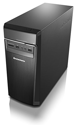 Lenovo H50 Desktop (AMD A6, 4 GB RAM, 1 TB HDD, Windows 10) 90BH0037US