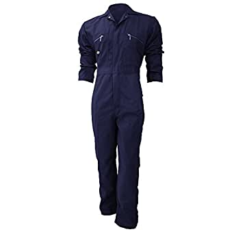 Dickies Redhawk Zip Front Coverall Regular / Mens Workwear (58inch) (Navy Blue)